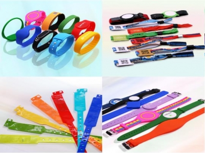 Cloth Wristbands | Fabric Wristbands for Events | RFIDMore Wristbands